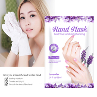 10Packs Exfoliating Hand Masks Wax Peel Moisturizing Spa Gloves Whitening Hand Mask Cream Hand Scrub Remove Dead Skin Hand Care 4