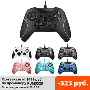 Image 1 - USB Wired Controller For Xbox One Video Game JoyStick Mando For Microsoft Xbox One Slim Gamepad Controle Joypad For Windows PC