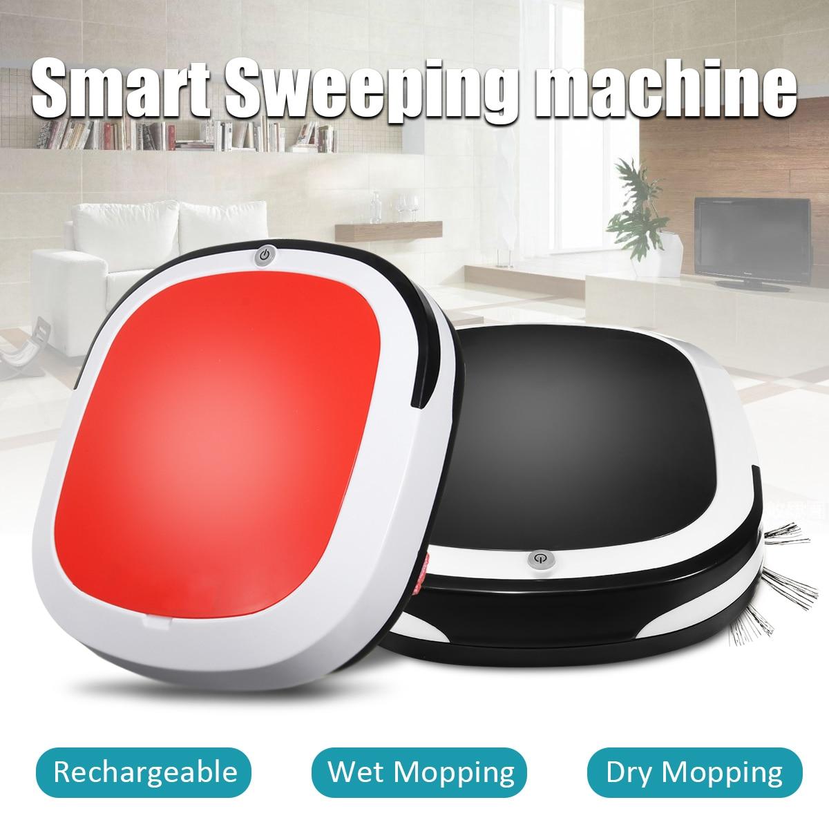 Smart Robotic Vacuum Cleaner Cordless Floor Dust Auto Sweeping Machine Dry Wet Tank Brushless Aspirador For Home