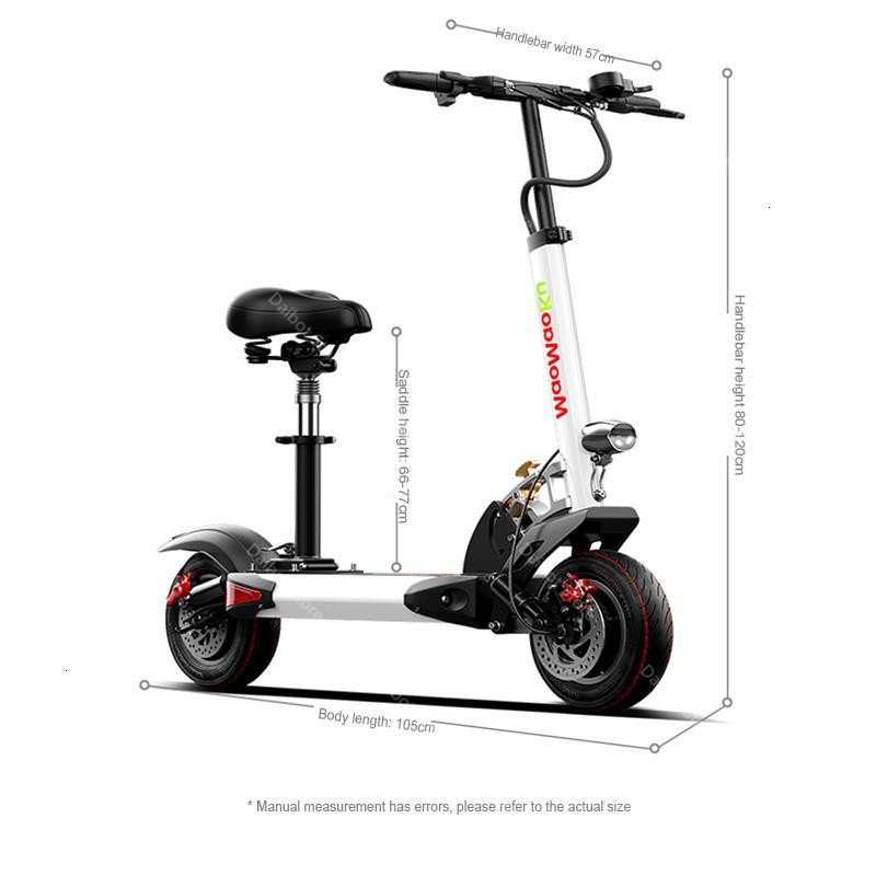 1200W 60V Electric Scooters Adults Two Wheels Electric Scooters High Speed 60KMH Folding Powerful Electric Bike With Seat (42)