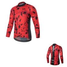 Aofly 2020 Qualidade Ciclismo Jersey Manga Comprida MTB Bicicleta Roupas de Ciclismo Sportswear Roupas de Bicicleta de Montanha