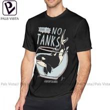 Orca t camisa seaworld camiseta 6xl gráfico camisa de manga curta masculina de algodão streetwear bonito tshirt