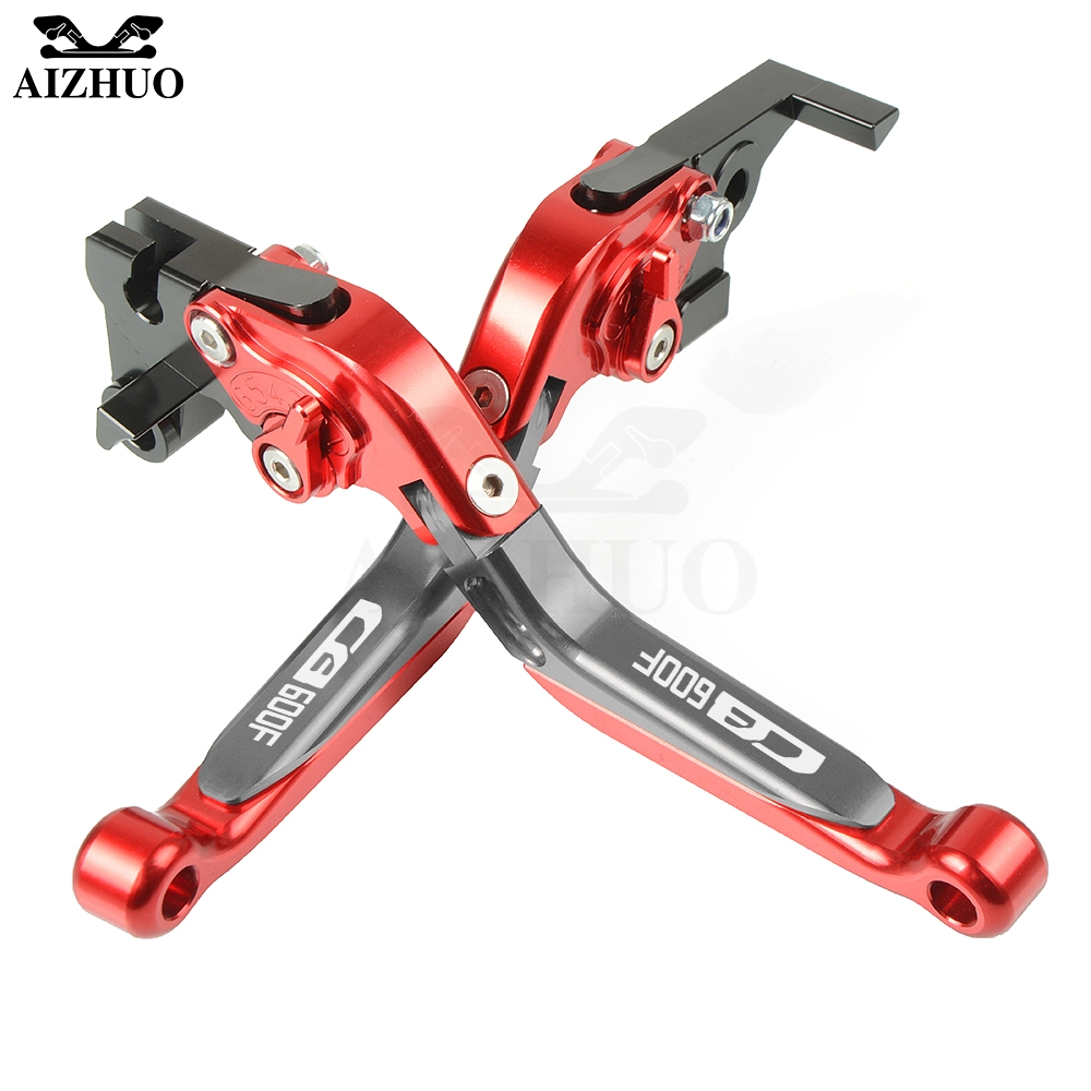 CB600F <font><b>Hornet</b></font> CNC Motorcycle Brake Clutch Levers Set For <font><b>Honda</b></font> CB600F CB <font><b>600</b></font> F <font><b>Hornet</b></font> CB 600F 2007-2013 <font><b>2008</b></font> 2009 2010 2011 2012 image