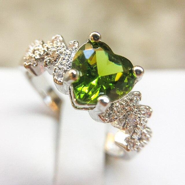 Женское кольцо из стерлингового серебра 925 пробы с циркониевым