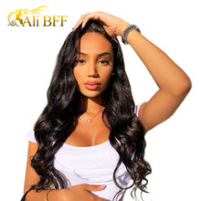 360 Lace Frontal Wig Brazilian Body Wave Wig 13x6 Lace Front Human Hair Wigs For Black Women ALI BFF Full Lace Wig(China)