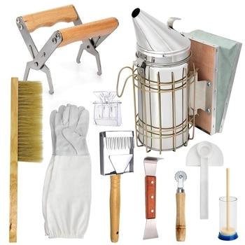 Beekeeping Honey Tool Kit Beekeeping Starter Kit Set Of 10 Beekeeping Equipment Supplies фото
