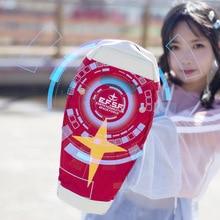 Harajuku terno móvel anime japonês gundam RX 78 2 escudo cosplay estudante escola cintura sacos do mensageiro mochila escolar vermelho prop