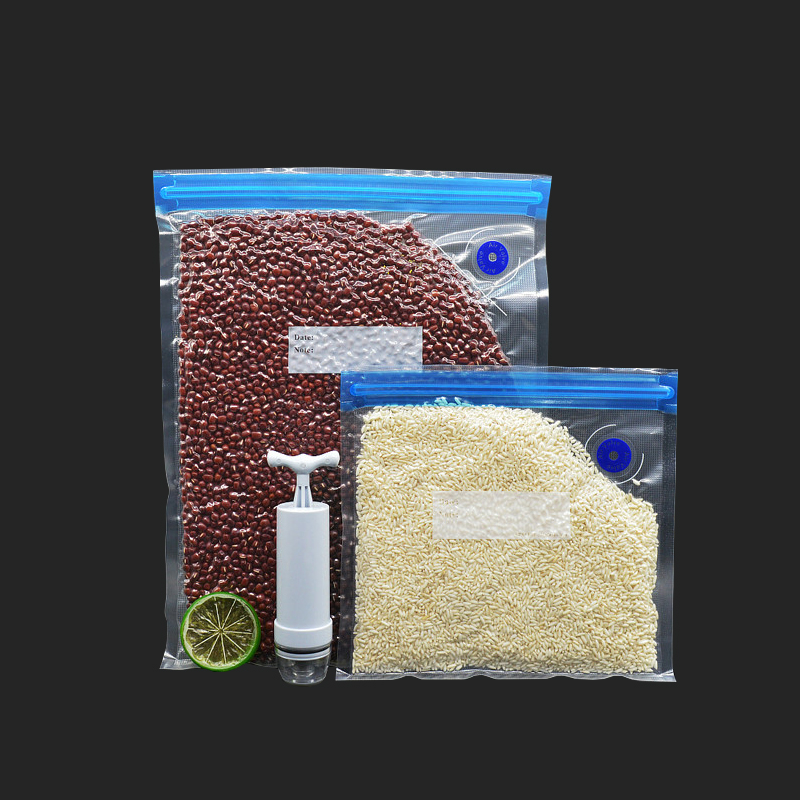 Vacuum Sealer Vacuum Bags For Food Storage With Pump Reusable Food Packages Kitchen Organizer Vacuum Pump