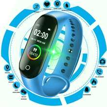 M4 Smart Silicone Watchs Sport Wristbands For Women LED Screen Fitness Traker Bluetooth Waterproof Lady Watchs Sports + Strap
