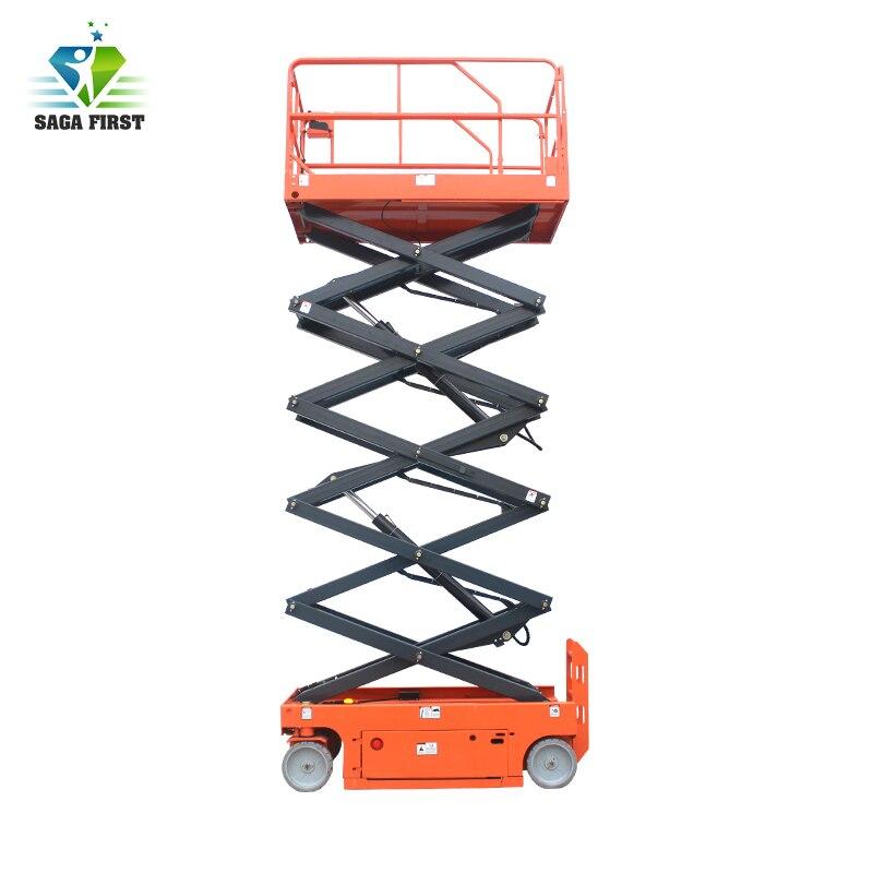 Self-Propelled Hydraulic Scissor Lift Work Table /Lifting Platform Cheap Price Factory