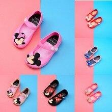 Детская обувь; Новинка года; летние сандалии для девочек с героями мультфильмов; детская пляжная обувь из ПВХ; детские сандалии принцессы