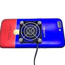 Universal Portable Mobile Phone Cooler USB Cooling Pad Fan Gamepad Game Gaming Shooter Mute Radiator Controller Heat Sink