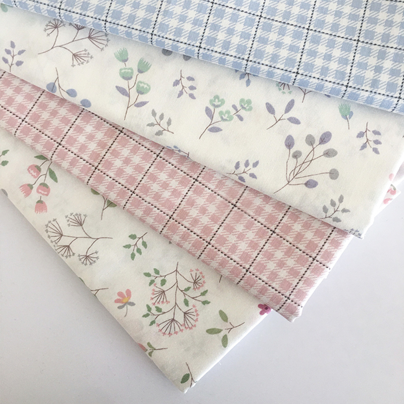100% хлопчатобумажная ткань с цветочным принтом, платье в стиле пэчворк для аксессуаров, скатерть для одежды, рукоделие
