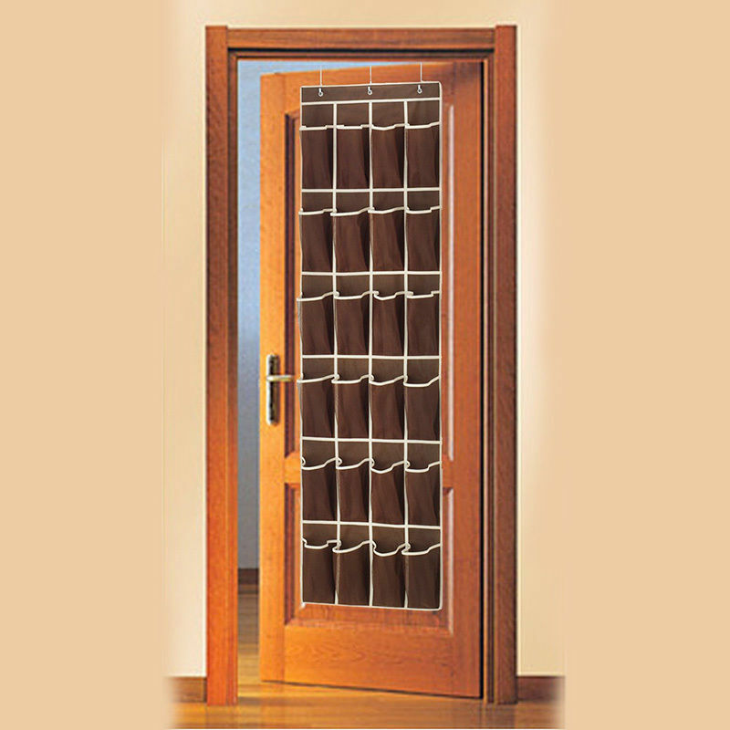 Space Saving Door Hanging Organizer with 24 Pockets for Storage of Shoes Safely 4