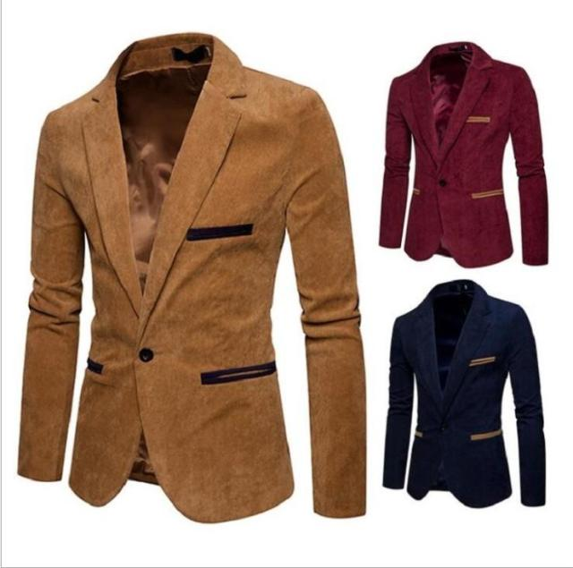 Best Offer Cee68 New Brand Men Blazer Wild Retro Prom Men S Suit Jacket High Quality Fashion British Style Slim Fit Warm Casual Blazer Male Cicig Co