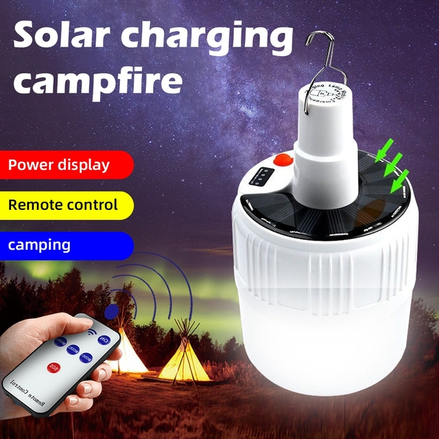 LED Solar 100W Outdoor Powered Lamp   1