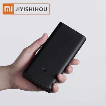 Mi Power Bank 20000mah PLM07ZM Portable Charger Dual USB Two Way Quick Charge Mi Power bank 3 20000mah solar power bank dual usb powerbank waterproof external battery portable solar battery charger charging with led light