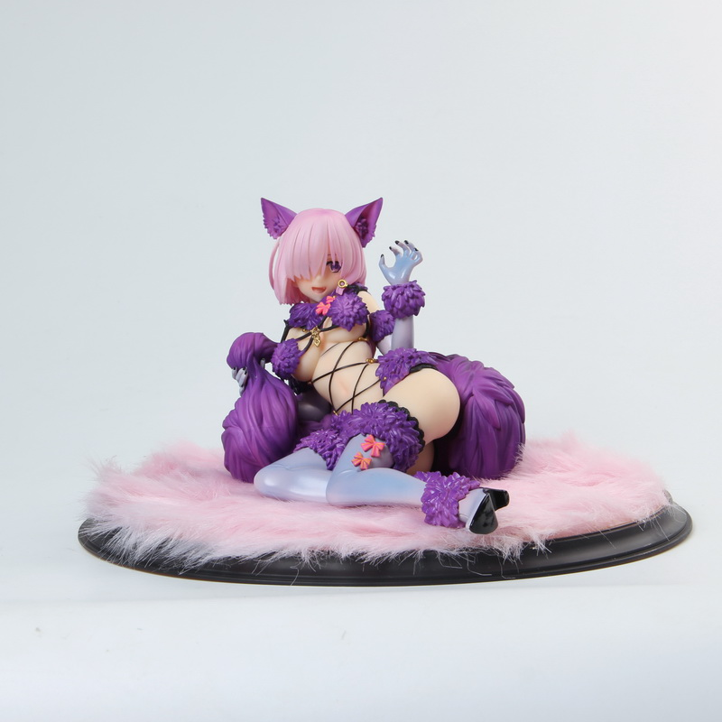New arrival Quality Edition Fate/Grand Order Mash Kyrielight Dangerous PVC action Figure Sexy Can Cast off Figure soft body toy|Action & Toy Figures| |  - title=