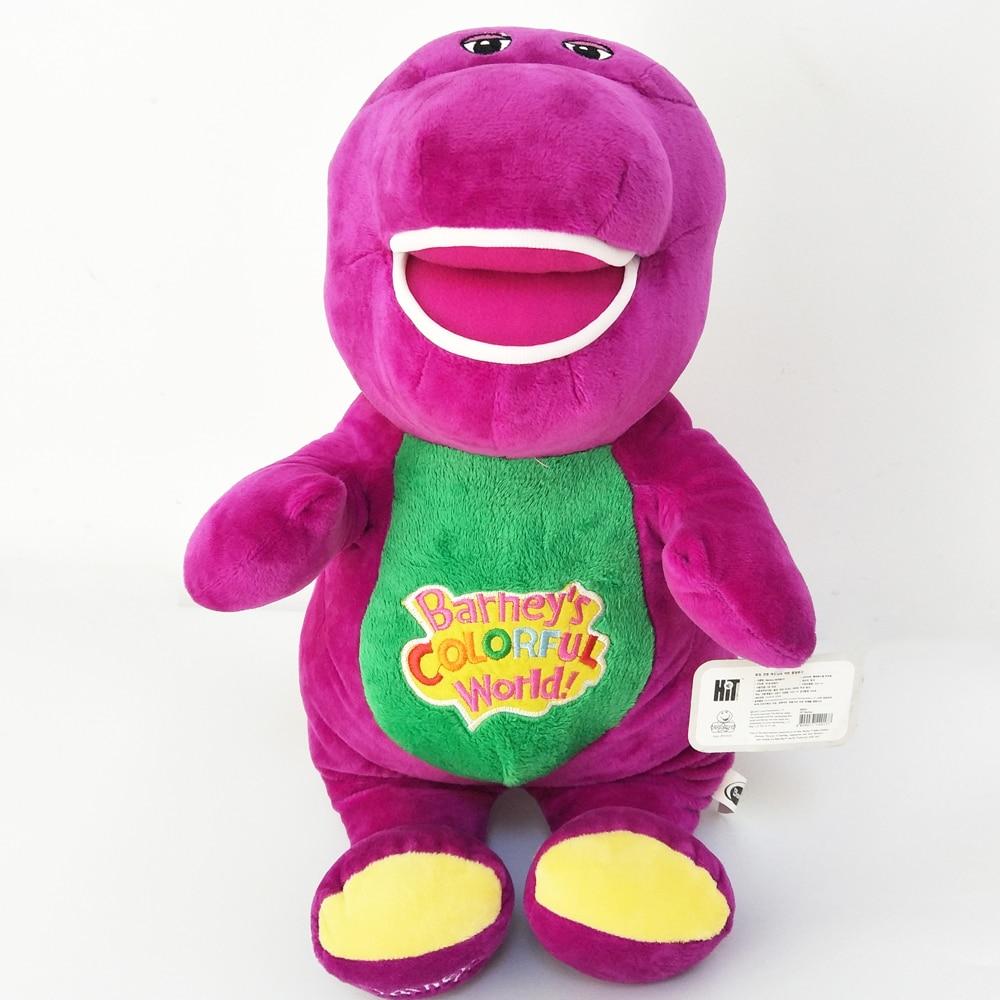 BOLAFYNIA NEW Purple dinosaur Barney doll children plush toy kid Stuffed toy Barney