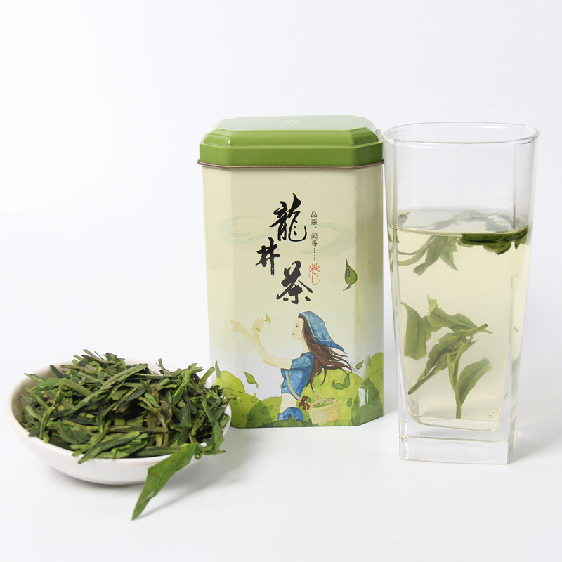 2019 Spring Longjing Green Tea Dragon Well Tea Long Jing Gift Packing China Green Food New 5A+ Chinese Top Grade West Lake Tea