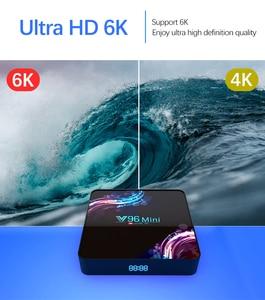 Image 2 - 2020 جديد واي فاي 2.4/5G مربع التلفزيون الذكية أندرويد 9.0 4GB 32GB 64GB الترا HD 6K H.265 يوتيوب مشغل الوسائط صندوق التلفزيون أندرويد TV فك التشفيرAllwinner H6 ، رباعي النواة ARM Cortex A53 ، حتى 1.5 جيجا هرتز