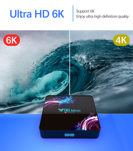 Image 2 - 2020 New Wifi 2.4/5G Smart TV Box Android 9.0 4GB 32GB 64GB Ultra HD 6K H.265 Youtube Media Player TV BOX Android TV Set Top Box