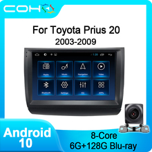 COHO Für Toyota Prius 20 2003-2009 Android 10,0 8-core 6 + 128 Gps Navigation Auto Multimedia player Radio