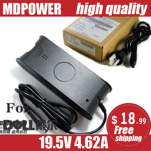 MDPOWER For <font><b>DELL</b></font> Studio 14 <font><b>1435</b></font> 15 Notebook laptop supply power AC adapter charger cord 19.5V 4.62A 90W image