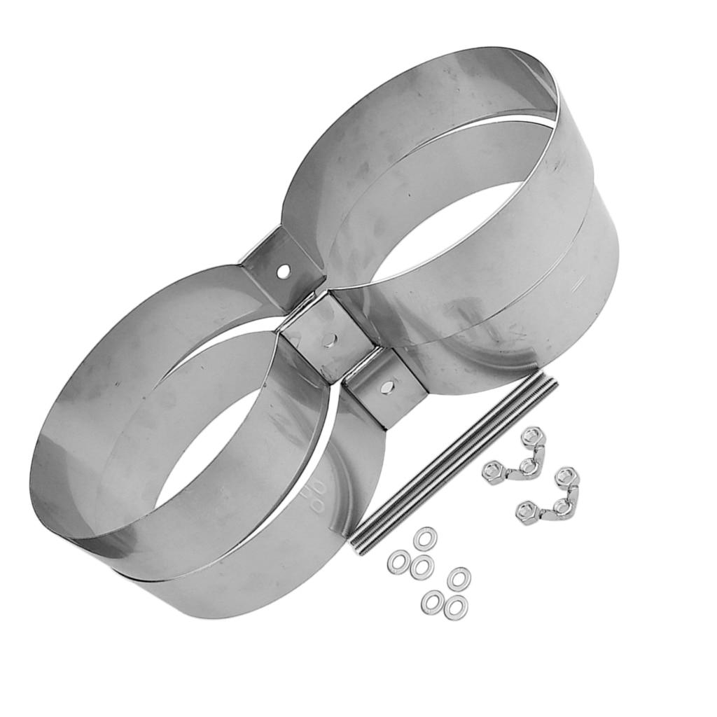 Bandes de montage/connecteur/retenue de réservoir de Double cylindre de plongée de technologie de plongée d'acier inoxydable - 4