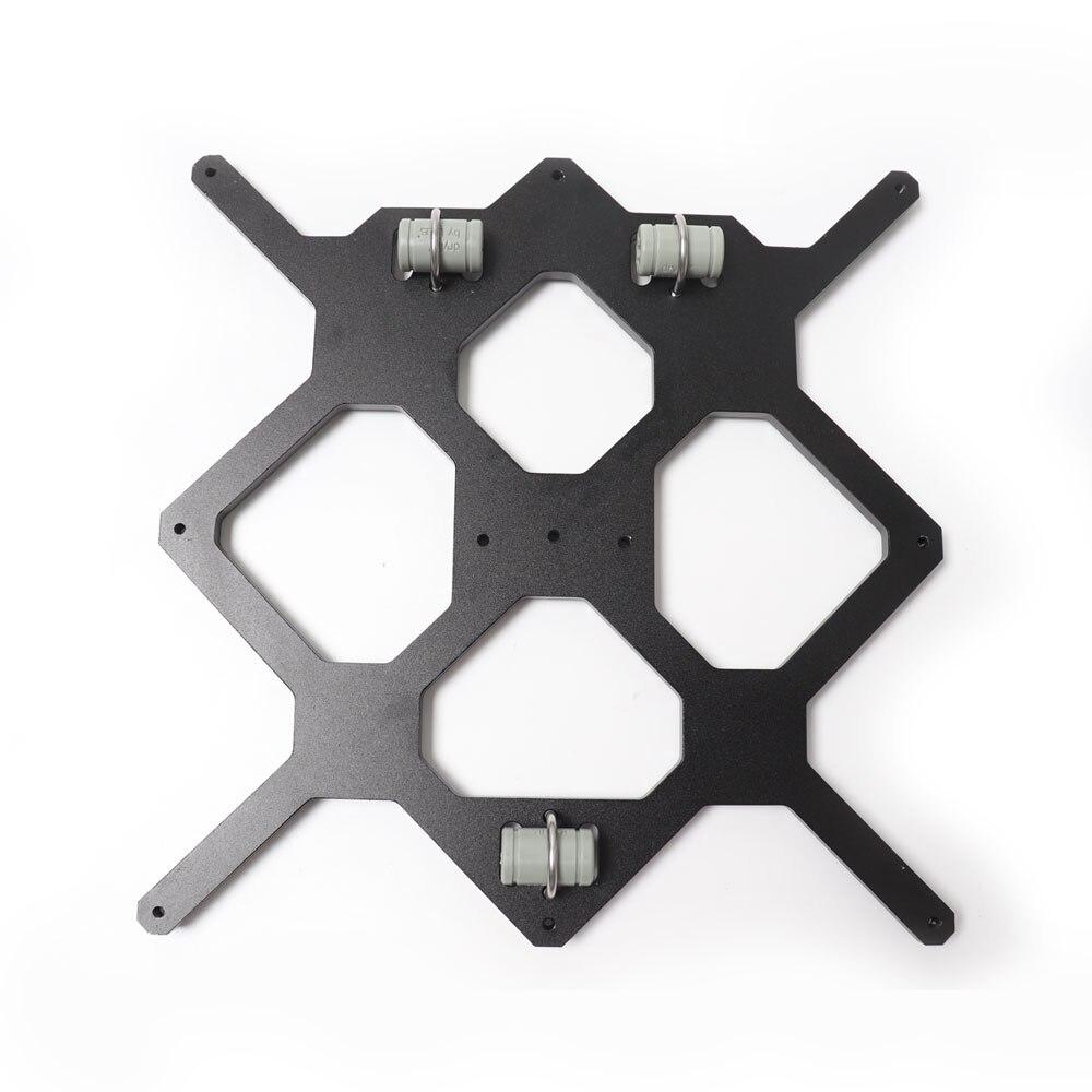 Y Carriage Plate Black Color Reprap Prusa I3 MK3 Aluminium Bed Support For DIY Prusa I3 3D Printer 3pcs LM8UU Drylin RJ4JP-01-08