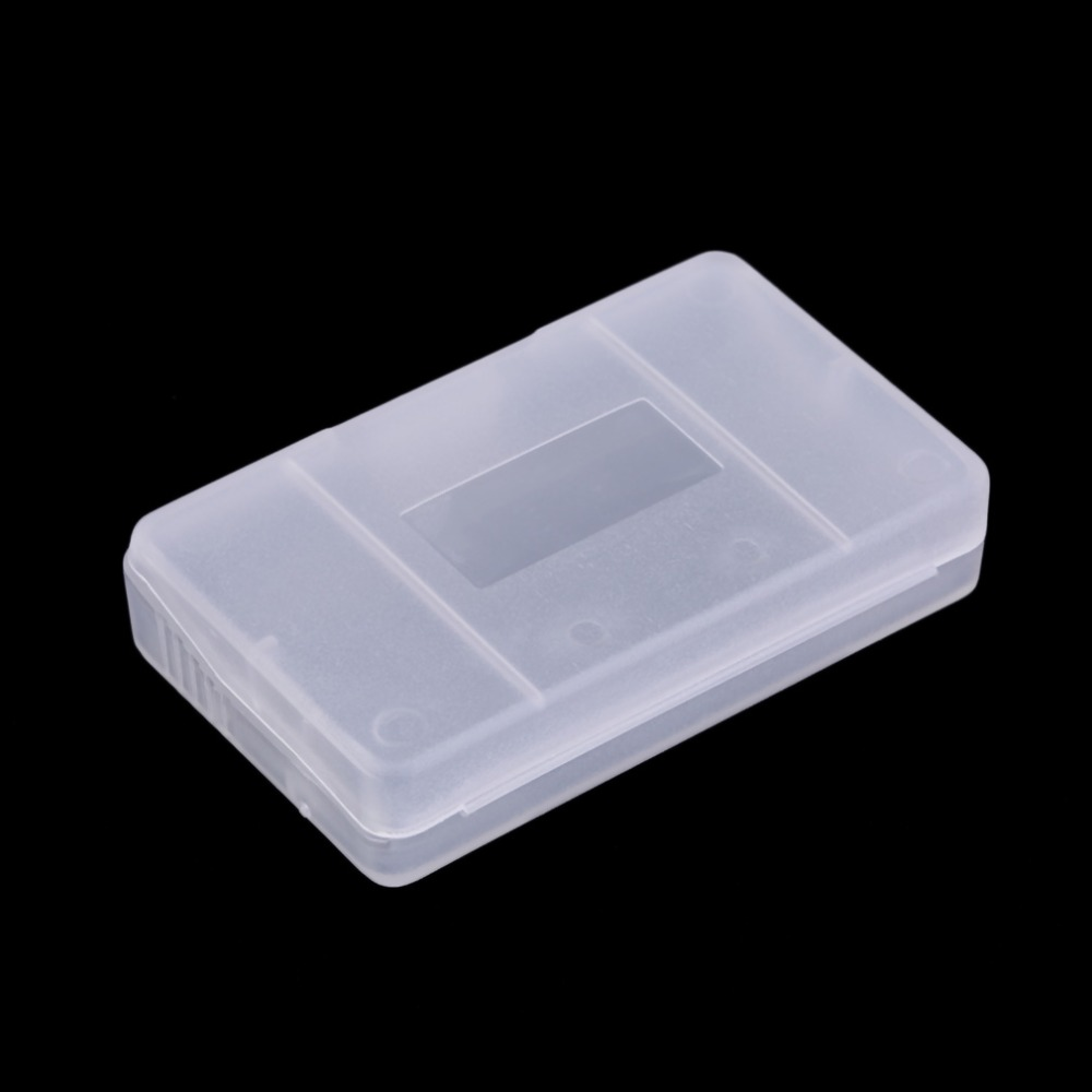 Good Quality For GBA Game Cards Cartridge Cases Plastic Material Transparent Plastic Game Cartridge Cases Storage Box Protector