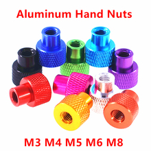 Flange-Nut Knurled-Step Anodized Aluminum 10pcs M5 Frame M4 M6 M8 M3 for FPV Rc-Models