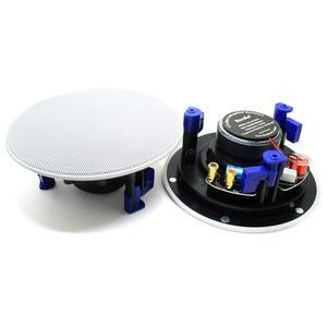 Image 2 - Herdio 4 inç 160 watt 2 yollu gömme montaj duvar tavan 2 yollu ev ses hoparlör sistemi için banyo mutfak ev 3 çift