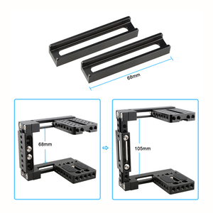 Image 4 - Kayulin Dual use Adjustable Dslr Camera Cage Kit with Wooden handle grip for Universal Dslr cameras
