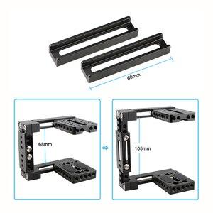 Image 4 - Kayulin Dual use Einstellbare Dslr Kamera Käfig Kit mit Holz griff grip für Universal Dslr kameras