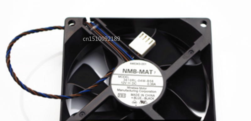 Free Shipping 3610RL-04W-B56 9CM 12V 0.38A 9025 90 * 90 * 25mm 4 Wire PWM Chassis Fan