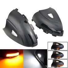 Dynamische Blinker Sequentielle LED Blinker Rückspiegel Anzeige Licht Pfütze Licht Für VW Volkswagen Tiguan MK1 2008 2016