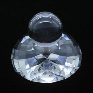 Image 1 - Stabilizzatore bilanciato a disco con morsetto per giradischi LP in cristallo da 90mm stabilizzatore bilanciato a disco, stabilizzatore di peso di smorzamento del giradischi