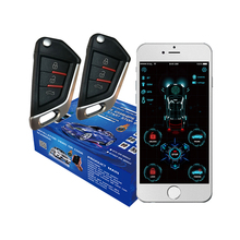 Car-Alarm Remote-Starter Cardot Pke Keyless-Entry Smart Engine New Gps GSM 4g