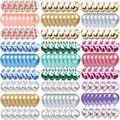 10/20 конфетти металлик Агатовые латексные прозрачные воздушные шары Baby Shower дети с днем рождения вечерние свадебные декоративный воздушный ш...