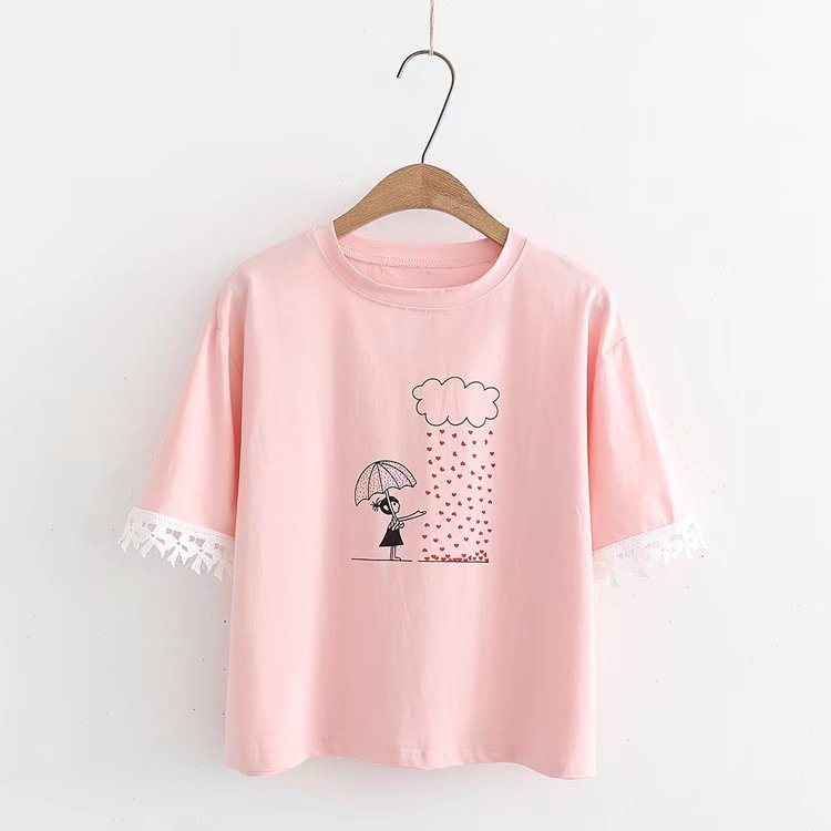 Women t shirt 2019 Plus Size Casual Short Sleeve O-Neck t-shirt Cute style tshirts