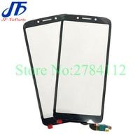 Panel de pantalla táctil para Motorola Moto E5 Play Go XT1920-15, cubierta de lente de cristal exterior, XT1920-18, 10 Uds.