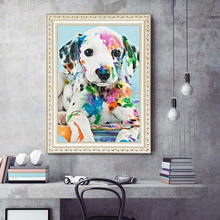 Алмазная живопись 5d «сделай сам» с изображением собаки картина