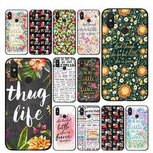 Shakespeare words TPU Phone cases for Xiaomi Redmi GO 4 5 6 7 Pro 4A 4X 5A 5Plus 6A Back cover(China)