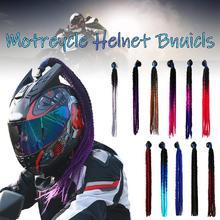 60cm Motorcycle Helmet Dreadlocks Women Helmet Dreadlocks Po