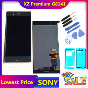 ERILLES 4K LCD Display for SONY Xperia XZ Premium LCD Touch Screen Digitizer Assembly Replacement Parts G8142 G8141 LCD display