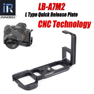 Image 1 - INNOREL LB A7M2 L Type Quick Release Plate Vertical L Bracket LB A7 II Hand Grip Specifically for SonyAlpha7II A7R2 A7M2 A7II