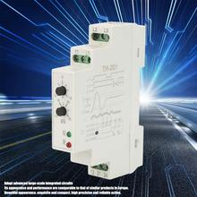 цена на 24-380V TH-201 Power Protection Relay Three Phase Sequence Control Relays Voltage Monitor voltage relay