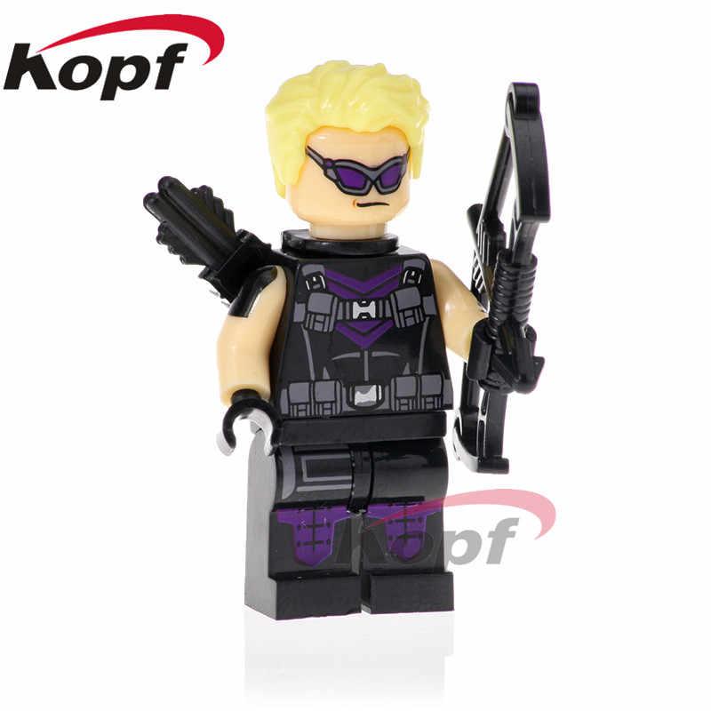 XH 866 Süper Kahramanlar Bulutsusu Infinity Savaş Figürleri Scarlet Cadı Karınca-adam Hawkeye Yapı Taşları Rakamlar Eylem Oyuncaklar çocuk