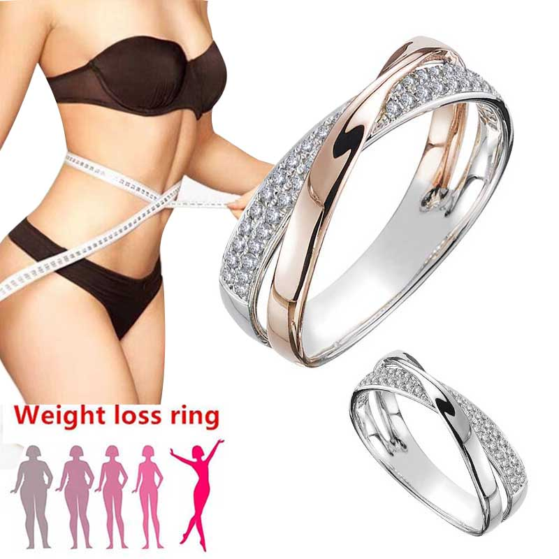 Fitness-Jewelry Lose Weight-Loss Slimming-Ring Health-Care Magnetic Fashion X